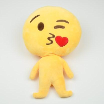 Emojifigur som skickar kyss