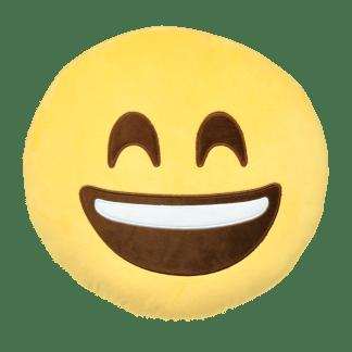 Emojikudde som är glad