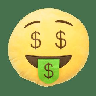 Emojikudde som har cash
