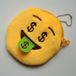emojiplånbok som har cash