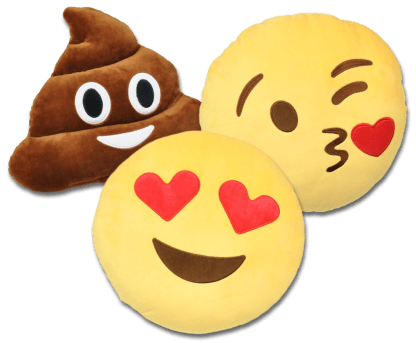 Emojikuddar 3-pack