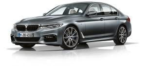 BMW 5-series-sedan-design-exterior - linke Seite, schräg von vorne - Foto BMW