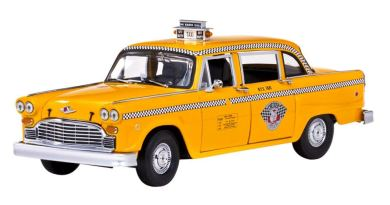 Checker A11, New York Taxi , gelb