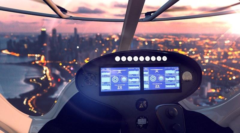Volocopter - Flug Taxi, Flugtaxi, Dubai - Elektro Flugzeug, Elektroflugzeug, Drohne -Autonom Drohne