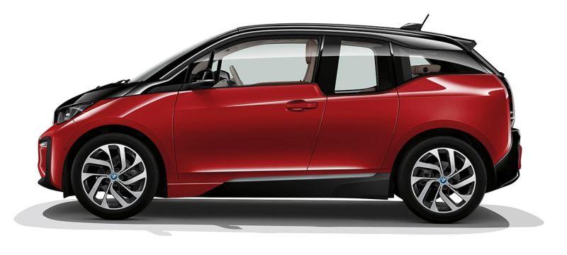 BMW i3 - Elektro Auto - in der letzten Version mit 120 Ah, 42,2 kWh Batteriekapazität
