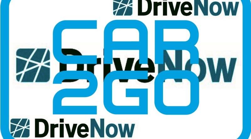 LOGOS - Fremde - Eigene Grafik zur Fusion von Car2Go und Drive Now