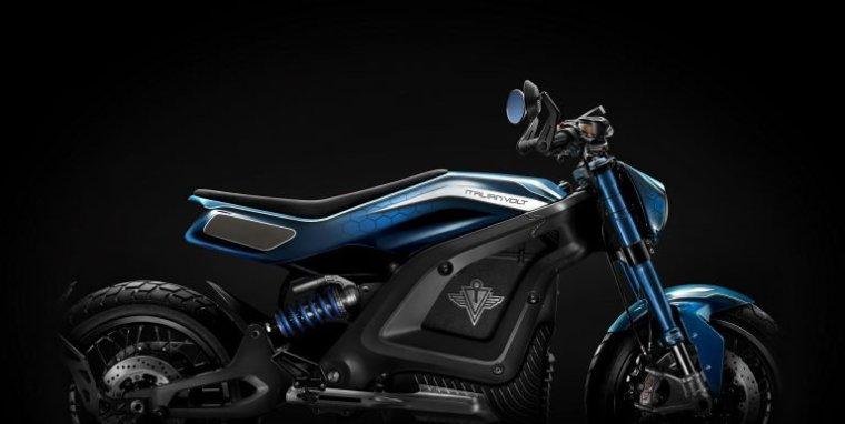 Lacama - blau -Elektromotorrad, itlienvolt-com