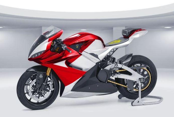 Lightning - Elektro Motorrad - rot - Elektromotorrad, E-Motorrad, Elektro Motorrad