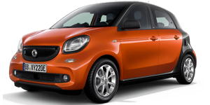 smart EQ forfour electric drive