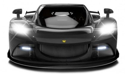 Arash AF10- Hybrid - Elektro Sportwagen - Vier Elektromotoren a 220 kW + ein 6,2 Liter V 8 aus der Corvette - auf 912 PS gesteigert - 2.109 PS Systemleistung