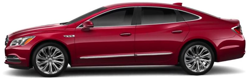 Buick - Lacrosse- 1,8l 30 Hybrid - 1.796 m3, 185 PS Gesamtsystem - 0 auf 100 kmh in 8,9 Sekunden Höchstgeschwindigkeit: 160 kmh - nur China