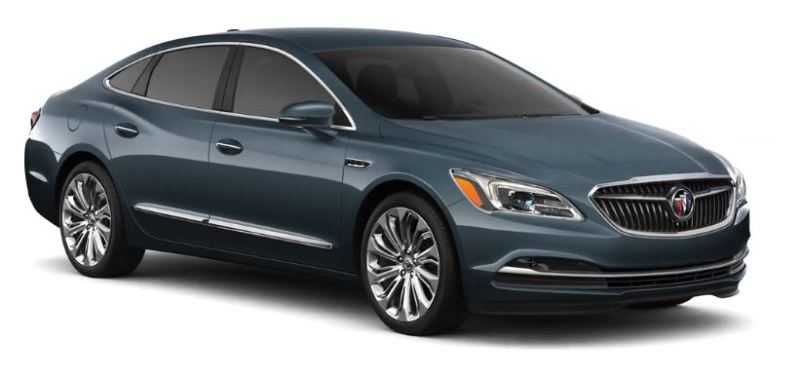 Buick - Lacrosse- 2,5 Hybrid - GM Tochter - rot metallic - von links, Fahrerseite - 2.500 m3, R4 + Elektromotor - Hybrid - 197 PS Systemleistung - Amerikaversion