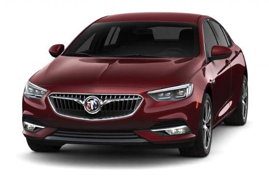 Buick - Regal 1,8 30 Hybrid- 2,5 Hybrid - GM Tochter - rot metallic - schräg von vorne links, Beifahrerseite - 1.796 m3, R4 + Elektromotor - Hybrid - 185 PS Systemleistung - Nur China - Foto Buick