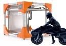 Elektro Motorrad aus 3D Drucker