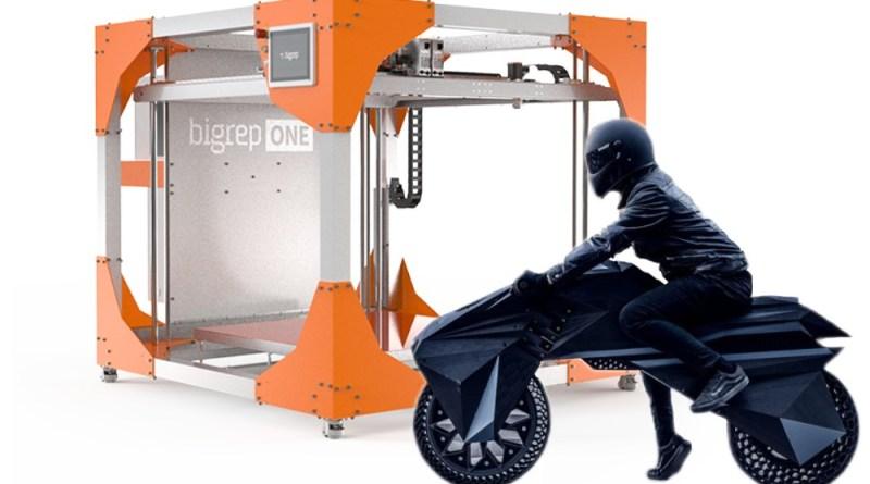 elektro motorrad aus 3d drucker. Black Bedroom Furniture Sets. Home Design Ideas