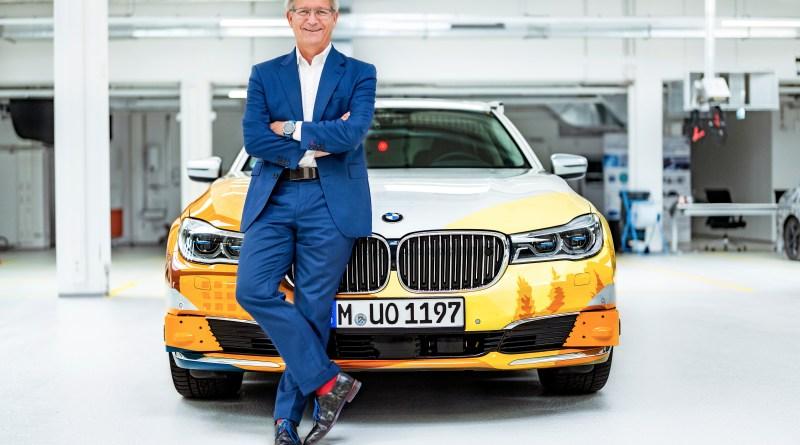 Elmar Frickenstein, Leiter Bereich Vollautomatisiertes Fahren, Fahrerassistenz der BMW AG - autonom Auto - Foto BMW