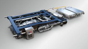 Hybrid-Technik; MTU PowerPack für Züge, Elektrozug - Foto MTU