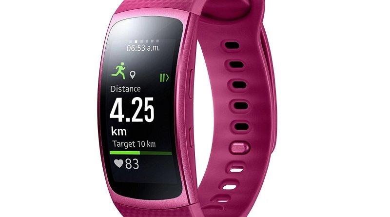 Samsung Gear Fit 2 Smartwatch mit Pulssensor und Benachrichtigungen - Amazon - 179 € am 17.12.2018