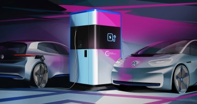 VW-Mobile-Ladesäulen-Elektroauto-Foto-VW Power bank for electric cars – the mobile quick charging stati