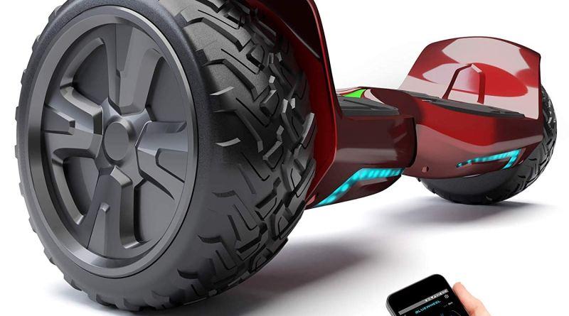 """8.5""""-Premium-Offroad-Hoverboard-Bluewheel-HX500-SUV-Deutsche-Qualitäts-Marke-Kinder-Sicherheitsmodus-App-Bluetooth-Starker-Dual-Motor-Elektro-Skateboard-Self-Balance-Scooter-299-€-Amazon"""