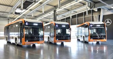 Vollelektrische Stadtbusse von Mercedes-Benz für Mannheim und Heidelberg , eCitaro