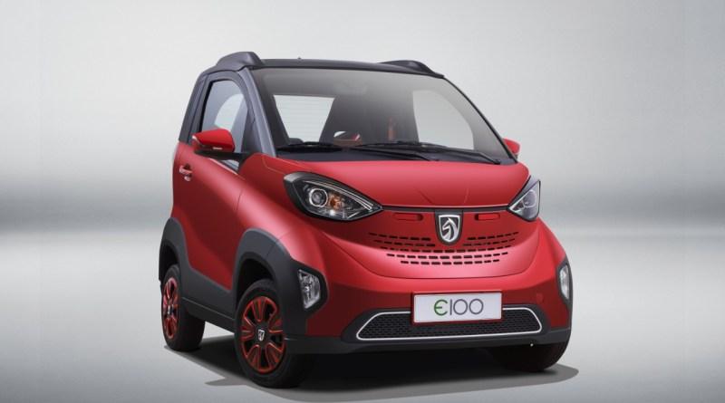 Joint Venture Elektroauto von SAIC-GM-WULING - BAOJUN E100 - 6 (3)