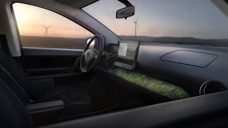 Solarzellenauto Sion ---Sion - Sono Motors - Interieur,Foto sion