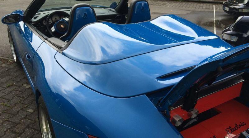 Verbrenner umbauen zum Elektroauto - Umbau eines 911 zum Elektroauto