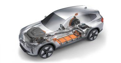 Batterie Recycling - BMW iX3