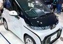 C-Plus-Pod: Toyotas erstes vollelektrisches Auto