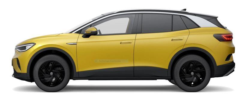 VW ID.4 MAX - Mit Sonderaussstattung Räder -56.365 € Foto VW Tesla Model Y vs VW ID.4