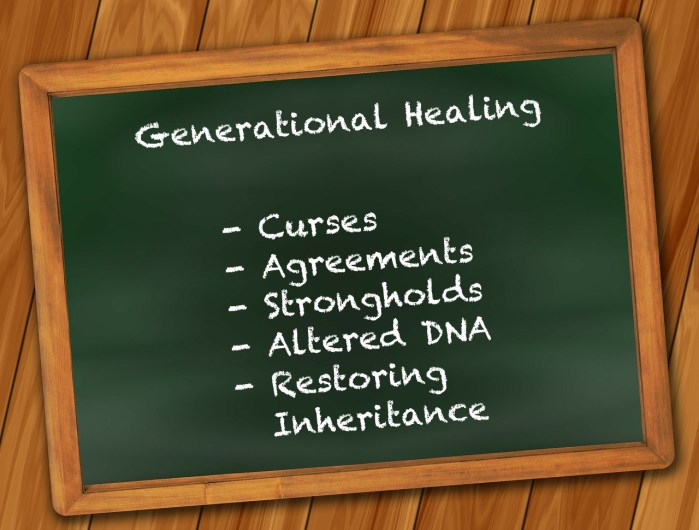Generational Healing Class - Emotional and Spiritual Healing