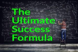 Success and the ultimate success formula