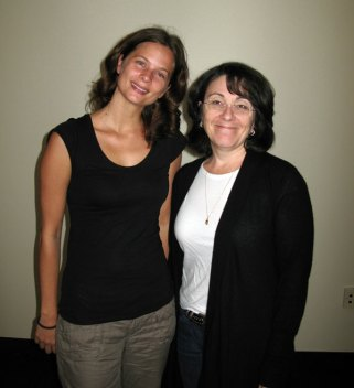 Suzanne O & Professor Lisa F.B