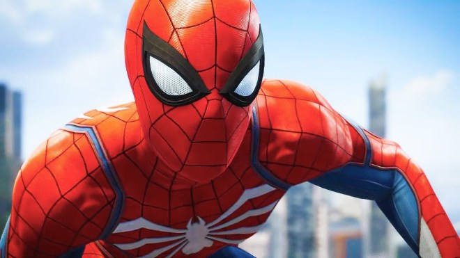 spiderman_closeup
