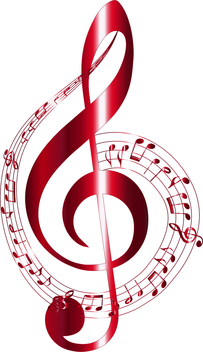 Vermilion-Musical-Notes-Typography-No-Background