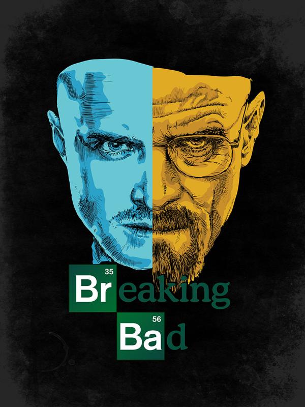 Breaking bad illustration