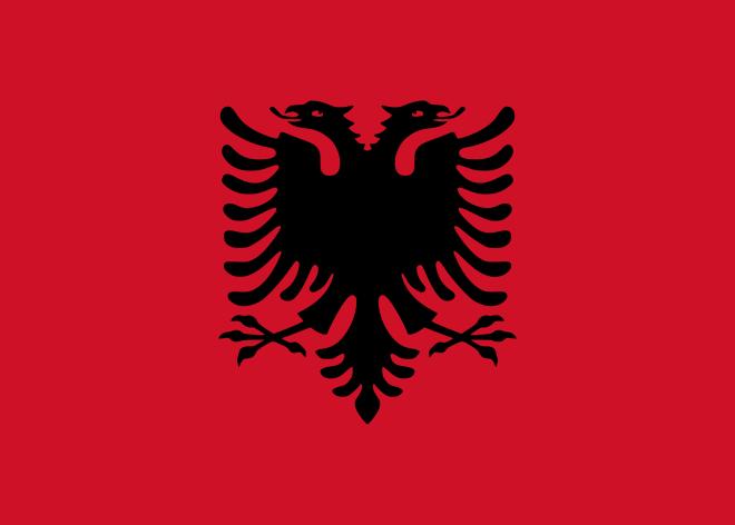 Bandeira da Albania