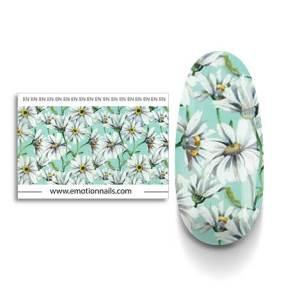 Art Foil Gerbera composto da una striscia floreale lunga 99 cm