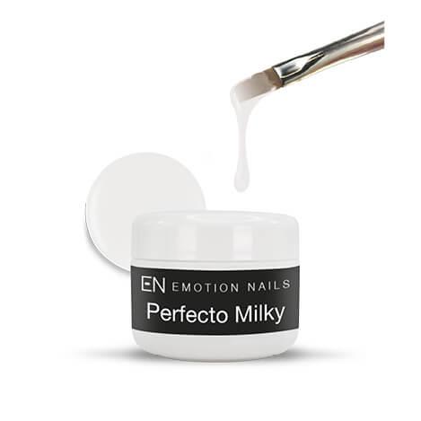 Perfecto Milky gel costruttore tissotropico a alta densita ideale per allungamenti anche estremi colorazione lattiginoso