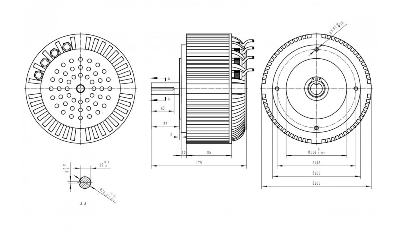 Harjaton Dc Moottori 5 Kw