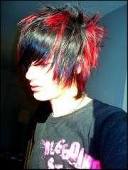 emo boys hairstyles wallpaper