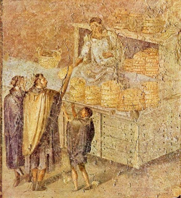 Pagnotta pompeiana  Emozioni e salute in cucina