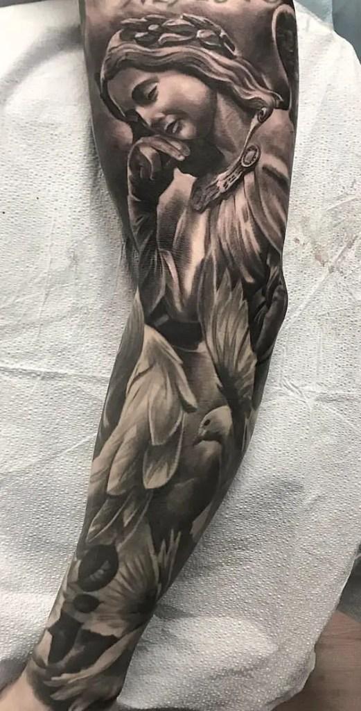 angel tattoo 1