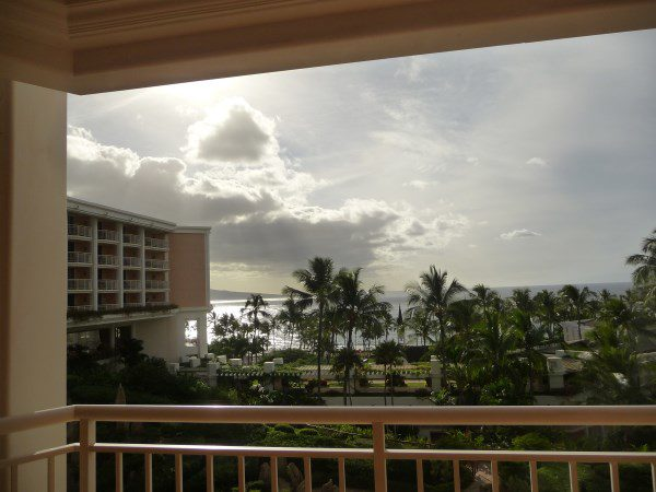 Grand Wailea balcony