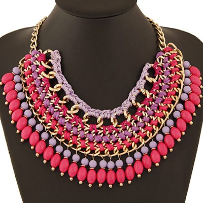 Florine StatemenFlorine statement necklacet necklace