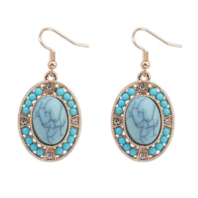 Eleuia earring in turquoise