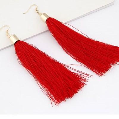 leda-silkly-tassel-red