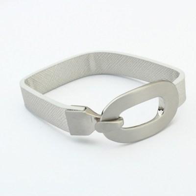 Oh hello cuff silver white