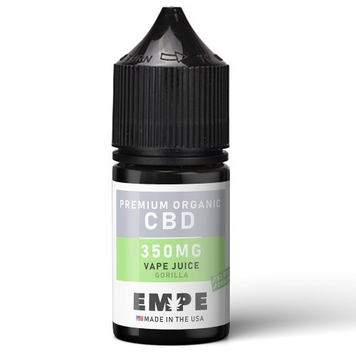 Organic CBD Vapejuice gorilla